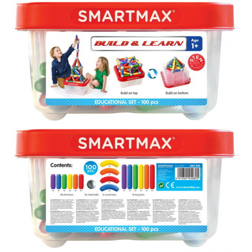 Smart Max Build & Learn (100 pcs) SMX 908