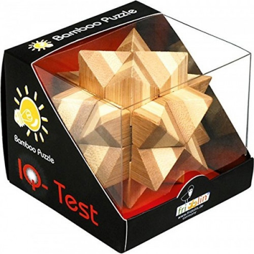 "IQ TEST BAMBOO puzzle ""Star"""