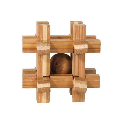"IQ TEST BAMBOO puzzle ""Grid box"""