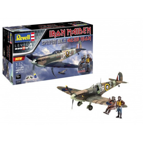 "Gift Set Spitfire Mk.II ""Aces High""  Iron Maiden - 220"