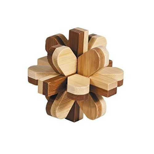 "IQ TEST BAMBOO puzzle ""Snowball"""