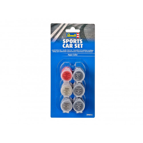 Aqua Color Sports Car set 6*5ml